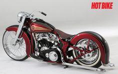 PanDejo - A Custom 2008 Harley-Davidson Panhead Softail   Hot Bike