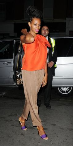 Solange Knowles Is A Braided Beauty In London (PHOTOS) | Global Grind