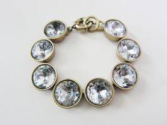 Crystal Brulee Bracelet. $30.00, via Etsy.