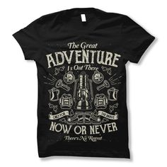The Great Adventure Tee shirt design | Tshirt-Factory