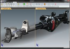 The TransMagic PowerPack for SolidWorks combines the design power of SolidWorks software with the multi-CAD freedom of TransMagic to unleash true design freedom.  Opening CATIA V5, NX or JT or any major 3D file format into any other software is a breeze with TransMagic.