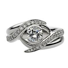 Shaun Leane Interlocking Ring Set SLD118-50-SET   C W Sellors Fine Jewellery and Luxury Watches