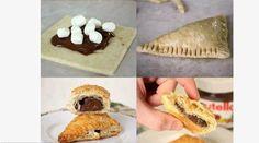 triangoli di nutella ricette dolci