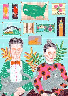 Kayleigh & Steve by Camilla Perkins