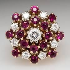Image result for ruby lane antique watermelon tourmaline jewelry