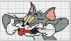 Disney Cross Stitch Patterns, Beaded Animals, C2c, Christmas Cross, Looney Tunes, Pixel Art, Bowser, Cartoon, Barn