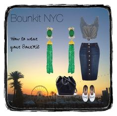 How to wear your Bounkit by bounkitnyc on Polyvore featuring River Island, Karl Lagerfeld, Lacoste and Bounkit