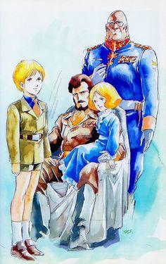 Gundam Origin by Yas
