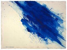 Saatchi Art: Phthalocyanine Blue, 1983 Painting by Carl Yoshihara