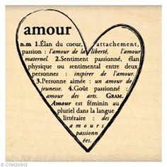 Tampon Love - Coeur d'Amour