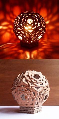 15 DIY Cardboard Crafts In Your Decor   Home Design And Interior
