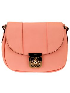 peach, leather and very very pretty!