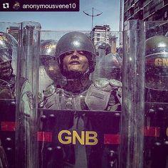 #Repost @anonymousvene10  La cara de un represor. -foto- @hsiciliano #venezuela #10Abr