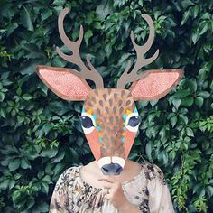 love this... animal masks - great activity!