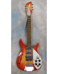 VINTAGE 1964 RICKENBACKER 325 FIREGLOW 3/4 SCALE.....Beautiful Guitar <3