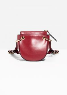 & Other Stories | Mini Leather Saddle Bag