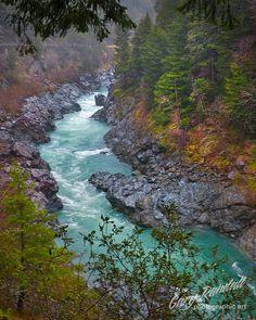 The Smith River Canyon along the Oregon / California border.