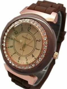 JMT Fashion Classic Crystal Quartz Silicone Strap Women Ladies Wrist Watch by JMT. $10.03. Fashion Classic crystal Quartz Silicone strap women Ladies Wrist Watch. There are several colors,if you have special requests about it,please tell us in advance,we will try our best to meet your demands,thanks.. Fashion Classic crystal Quartz Silicone strap women Ladies Wrist Watch,Best Gift for Christmas/New Year  Type : Wrist Watch For : Women Strap material :Silicone Color...