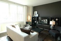 Grant Street West Model Home - eclectic - living room