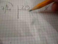 Divisioni a 2 cifre: un metodo semplificato ed abbreviato! - YouTube