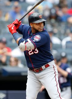 Nelson Cruz Pictures and Photos - Getty Images Better Baseball, Batting Gloves, Minnesota Twins, Sports Pictures, Cleveland Indians, Superstar, Mlb, Cave, Stripes