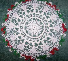 Free Crochet Christmas Doily Patterns | Christmas Doily ...