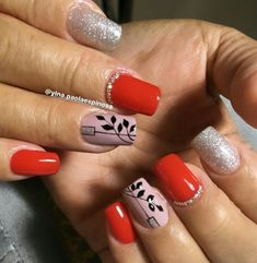 Semi Permanente, Beauty Nails, Nail Art, Red Toenails, Stiletto Nails, Short Nail Manicure, Polish Nails, Beautiful Nail Designs, Light Colored Nails