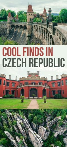 travel destinations unique Cool finds and Unique Things to do in Czech Republic from drinking wine in a cellar of a castle, to bridges that look like a castle, to rock formations - Czech has some amazing things to see! Europe Destinations, Europe Travel Tips, Europe Europe, Eastern Europe, Travel Packing, Prague Travel, London Travel, Road Trip, Prague Czech Republic
