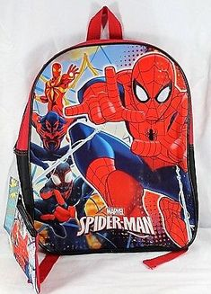 Shop for everything but the ordinary. More than sellers offering you a vibrant collection of fashion, collectibles, home decor, and more. Spiderman Backpack, Old Fashioned Boy Names, Kids Cartoon Characters, Spiderman Kids, School Bags For Boys, Boys Accessories, Insulated Lunch Bags, Cool Backpacks, Toddler Shoes
