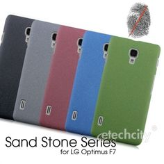 Sand Stone Series Anti-Fingerprint #PC Case for #LG Optimus F7 (Optimus LTE III) [PCAF-LGPTMF7] - $15.00