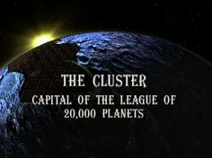 Lexx :: clusteropening.jpg picture by JanikaBanks - Photobucket  The Cluster