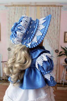 Regency Spencer Jacket  and Bonnet for Caroline by BabiesArtUs