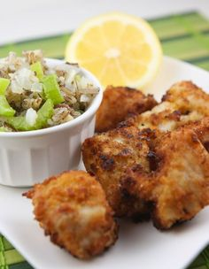 Fried walleye: I had guests asking me for this recipe it was so good! I added a bit of flour along with the ritz crackers, otherwise, I left the recipe alone