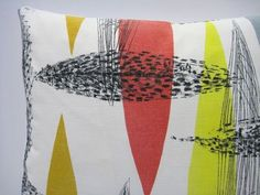 Lucienne Day fabric to fit in with the 50s/60s theme...