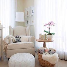 Love the basket of stuffed animals