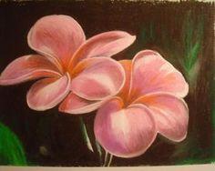 Oil Pastel Flowers