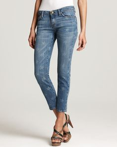 Current/Elliott Jeans - The Stiletto Jeans in White Star Wash | Bloomingdale's