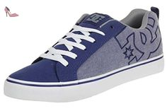 DC Shoes Court VULK TX Skater Sneaker 303354 blue, pointure:eur 40.5 - Chaussures dc shoes (*Partner-Link)