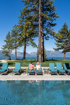 Heated Pool or a Refreshing Tahoe dip? Why not both?