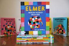 Elmer. Wielka księga przygód | Bajkochłonka Games, Gaming, Plays, Game, Toys