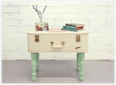 Suitcase Coffee Table by Shopruche. Click through for a roundup of 19 perfect DIY projects for travel lovers - all gorgeous, wanderlust-inspired and simple to make.