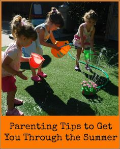 Parenting Tips to Get You Through the Summer | Mess For Less