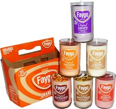 Faygo scented Candles - Michigan Made Products and Gift Baskets
