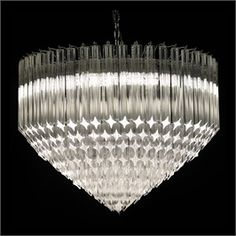 Small Chandelier Chrome