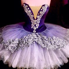 Purple ombre stretch tutu www.theworlddances.com/ #costumes #tutu #dance