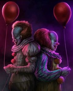 Stephan King it  old pennywise and new pennywise