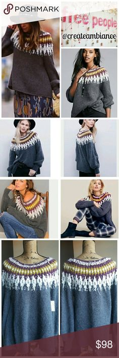 Free people one shoulder sweater   Frees, Acrylics and Free people