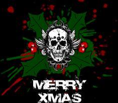 welcome december gifs | Skeleton-Skull: Christmas Skulls