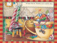 mary engelbreit clip art | wallpapers of The Night Before Christmas illustration - Wallpaper of ...