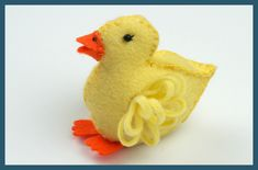 What a lovely design for felt ducks. I think I'll make a few of these to distribute for #TheLittleDuckProject